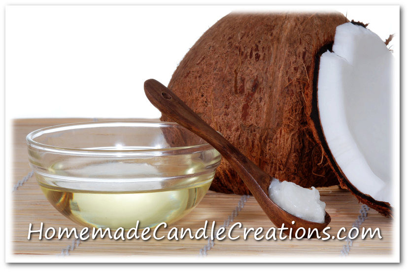 Coconut Wax Candle Making-Homemade Candles with Coconut Wax